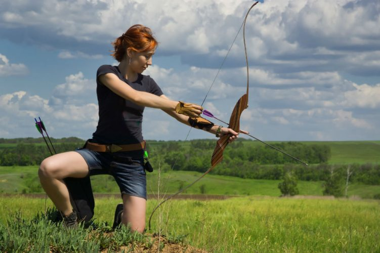 How to Hold a Bow